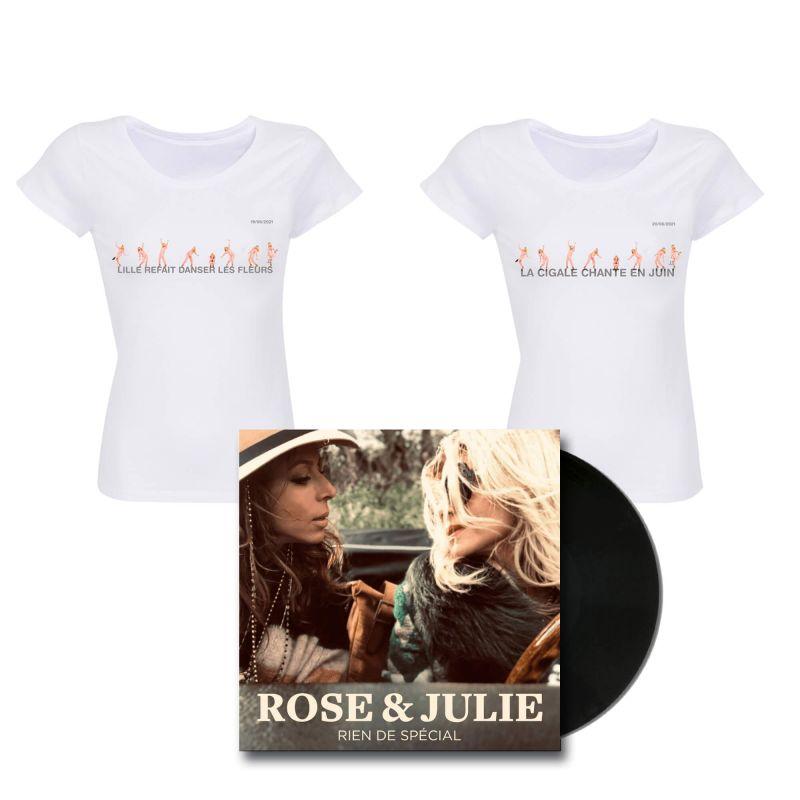 Pack Femme T-shirt La Cigale + Lille Taille S